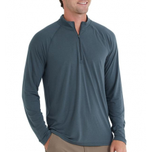 Men's Bamboo Flex Quarter Zip by Free Fly Apparel in Squamish BC