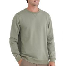Men's Bamboo Heritage Fleece Crew by Free Fly Apparel in Squamish BC