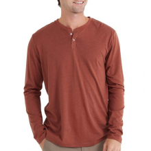 Men's Bamboo Heritage Henley by Free Fly Apparel