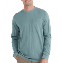 Men's Bamboo Heritage Pocket Long Sleeve by Free Fly Apparel in Squamish BC