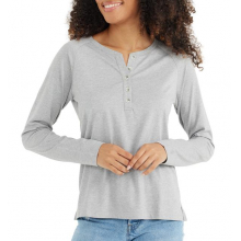 Women's Bamboo Heritage Henley by Free Fly Apparel in Chelan WA