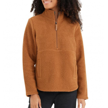 Women's Bamboo Sherpa Fleece Half Zip by Free Fly Apparel in Squamish BC