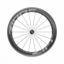 AM 404 Firecrest Carbon Tubeless Rim Brake 700c Front 18Spokes Quick Release Standard Graphic A1