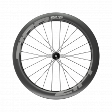 AM 404 Firecrest Carbon Tubeless Disc Brake Center Locking 700c Front 24Spokes 12x100mm Standard Graphic A1 by Zipp