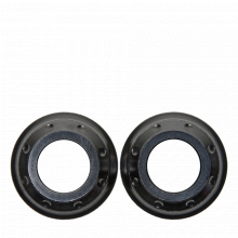 Wheel Small Parts End Cap Kit Wheel Cobalt/Iodine/Zinc Front 15mm My2017+ by Crank Brothers