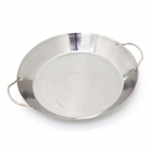Stir-Fry and Paella Grill Pan, Stainless