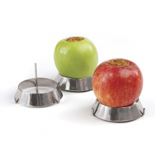 Set of 3 Stainless Steel Grill Rings by Big Green Egg