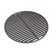 Half Moon Cast Iron Dual Side Grid for XLarge EGG by Big Green Egg