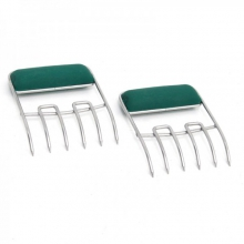 Stainless Steel Meat Claws, Soft Grip Handles by Big Green Egg in Hilo Hi
