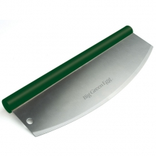 Rockin' Pizza Cutter / Solid Stainless Steel Blade by Big Green Egg