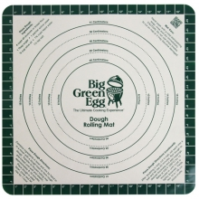 Silicone Pizza Dough Mat with Recipe by Big Green Egg