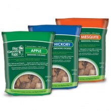 Premium Kiln Dried Apple Wood Smoking Chunks by Big Green Egg