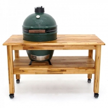Tropical Solid Teak Table for Large EGG by Big Green Egg