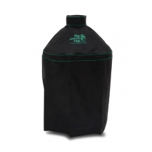 Ventilated Cover w/piping and handle for Large EGG in Nest by Big Green Egg
