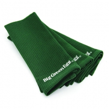 100% Cotton, Embroidered All-Purpose Towels, Set of Three by Big Green Egg