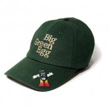 Cap with Mr. EGGhead Design, Green by Big Green Egg