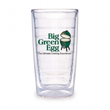 BGE Logo Authentic Tervis Tumbler (16oz / .47L) set of 2  Limited Qty by Big Green Egg