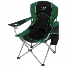 Recreational Folding Chair with Cooler, Cup Holder and Carry Bag by Big Green Egg