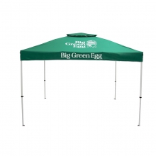 Pop-Up Tent, Heavy-duty Steel Frame with Big Green Egg Branded Canopy (10? x 10? / 3m x 3m) by Big Green Egg in Oneonta AL