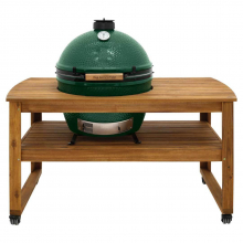 Table - Solid Acacia Hardwood for Large Egg by Big Green Egg