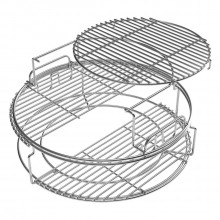 Frame - 3 Tier - SS - Expander for L by Big Green Egg