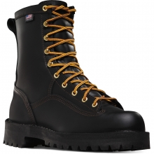 "Rain Forest 8"" Black by Danner"