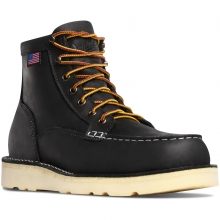 "Bull Run Moc Toe 6"" Black ST by Danner"