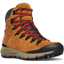 "Women's Arctic 600 Side-Zip 5"" Brown/Red 200G by Danner"