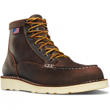 "Women's Bull Run Moc Toe 6"" Brown by Danner"