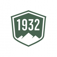Sticker 3x3 1932 Badge by Danner