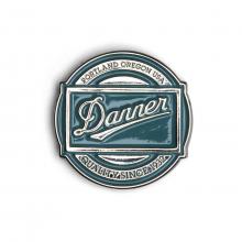 Enamel Pin 70s Logo by Danner in Chelan WA