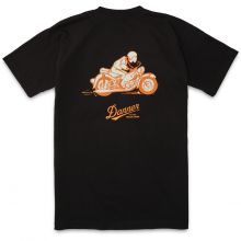 Pocket T-Shirt 70s Motorcycle by Danner