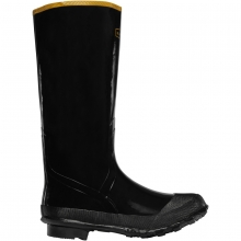 "Men's Economy Knee Boot 16"" Black by LaCrosse"