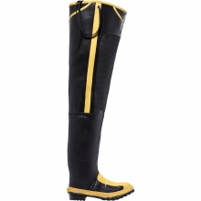 "Men's 32"" Met Hip Boot Black MET/SM/ST"