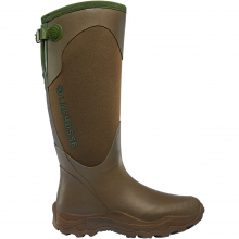 """Women's Alpha Agility Snake Boot 15"""" Brown/Green by LaCrosse in Squamish BC"""