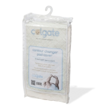 Terry Cloth Contour Changing Pad Cover - Natural by Colgate Kids