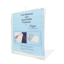 Crib Mattress and Dust Ruffle Protector by Colgate Kids in Dublin Ca