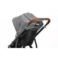 VISTA Leather Handlebar Cover (2017) by UPPAbaby in Ann Arbor Mi