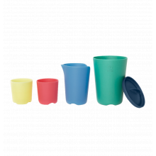 Stokke Flexi Bath Toy Cups Multi Colour by Stokke in Irvine Ca