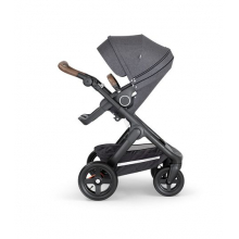 Trailz Black Chassis with Brown Handle by Stokke in Irvine Ca