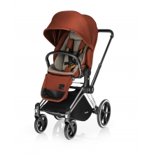 Priam Lux Seat - Autumn Gold Denim by Cybex