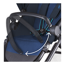 Agis/Eternis Bumperbar - Black by Cybex