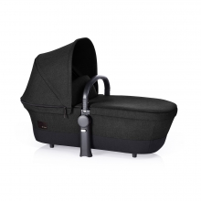 Priam Carry Cot - Black Beauty Denim