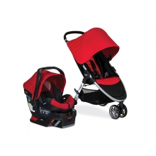 Travel System 2017, B-Agile & B-Safe 35, US, Red by Britax in Brentwood Ca