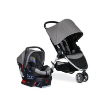Travel System 2017, B-Agile & B-Safe 35 US, Steel by Britax