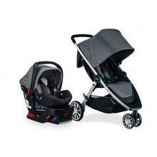 TRAVEL SYSTEM, B-LIVELY & B-SAFE 35 US DOVE by Britax in Alameda Ca