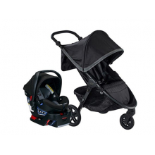 TRAVEL SYSTEM, B-FREE & B-SAFE ULTRA US, PEWTER by Britax
