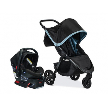 TRAVEL SYSTEM, B-FREE & B-SAFE ULTRA US, FROST by Britax