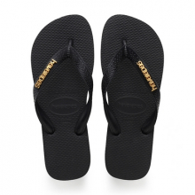 Women's Top Logo Metallic Sandal by Havaianas