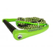 Apex Suede Grn/Green H-Braid 65 by Liquid Force